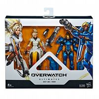 Overwatch - Ultimates Action Figure: Mercy & Pharah - 2-Pack